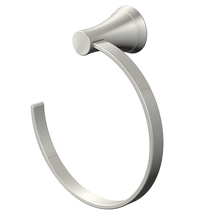 Jacuzzi Lyndsay Brushed Nickel Wall-Mount Towel Ring