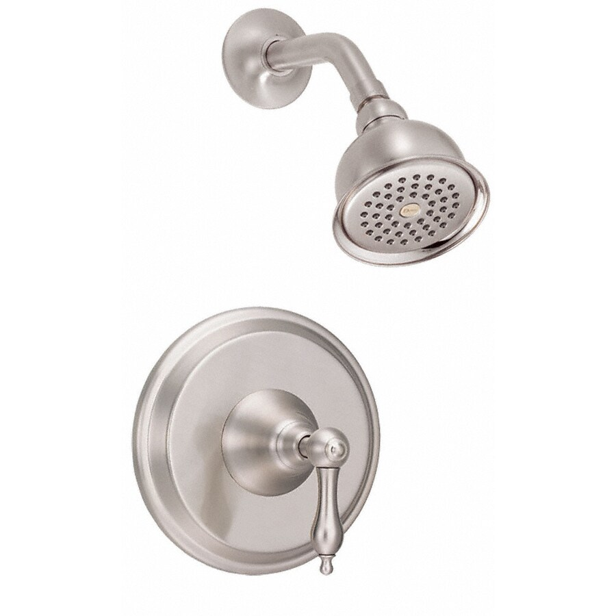 Danze Fairmont Brushed Nickel 1-Handle Handle(S) Included Shower Faucet with Single Function Showerhead