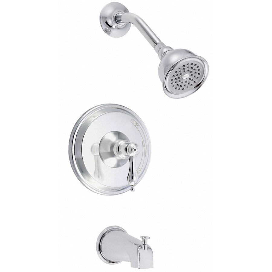 Danze Fairmont Chrome 1-Handle Handle(S) Included Tub and Shower with Single Function Showerhead