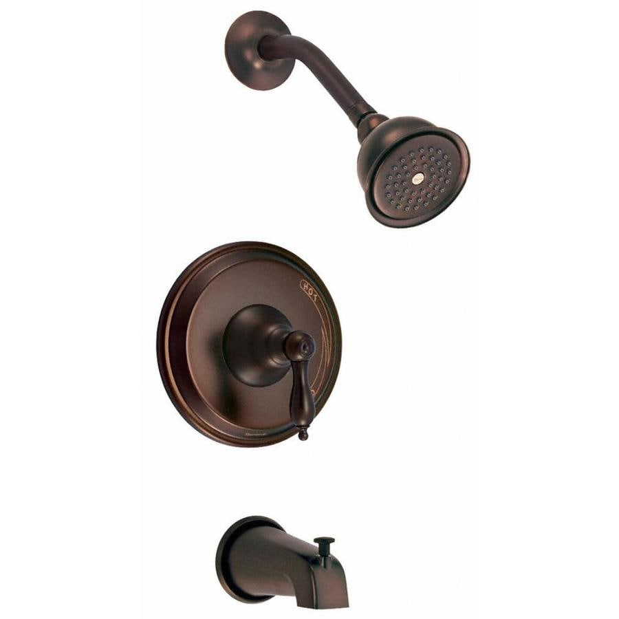 Danze Fairmont Oil-Rubbed Bronze 1-Handle Bathtub and Shower Faucet Trim Kit with Single Function Showerhead