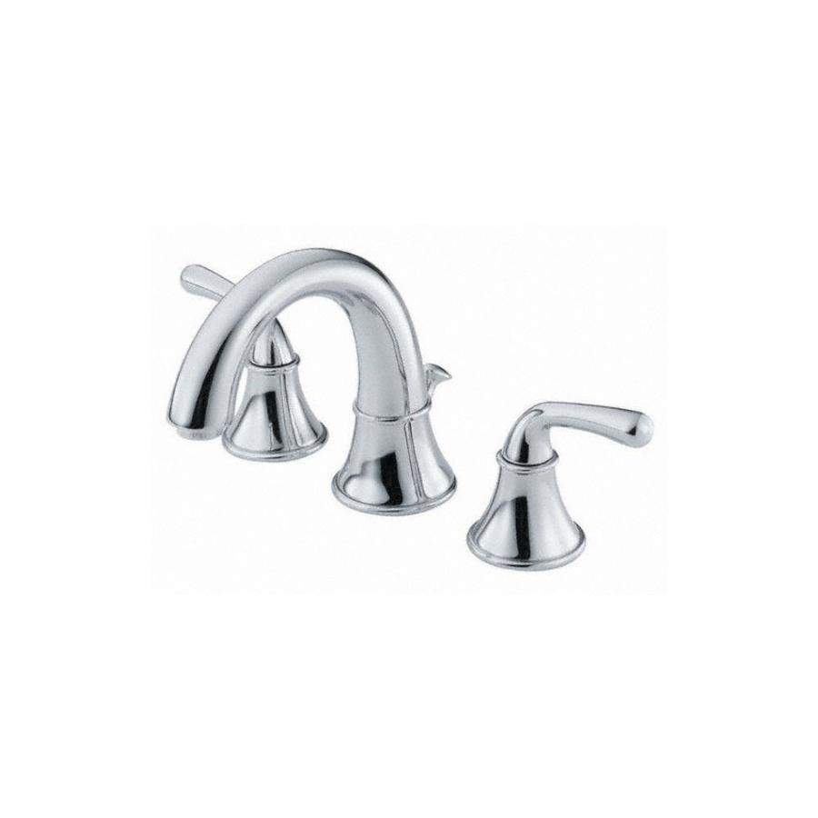 Danze Bannockburn Chrome 2-Handle Widespread WaterSense Bathroom Faucet (Drain Included)
