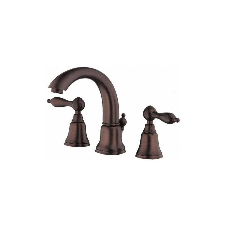 Danze Fairmont Oil-Rubbed Bronze 2-Handle Widespread WaterSense Bathroom Faucet (Drain Included)