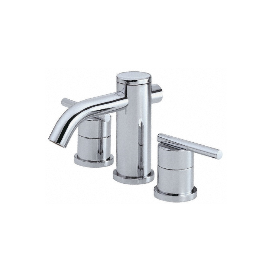 Danze Parma Chrome 2-Handle Widespread WaterSense Bathroom Faucet (Drain Included)