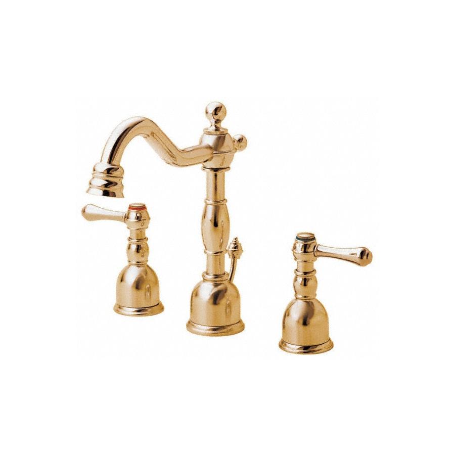 Shop Danze Opulence Polished Brass 2 Handle 4 In Mini Widespread Watersense Bathroom Faucet