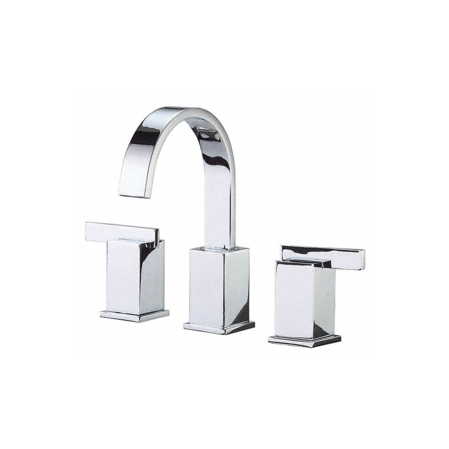 Danze Sirius Chrome 2-Handle Widespread WaterSense Bathroom Faucet Drain Included