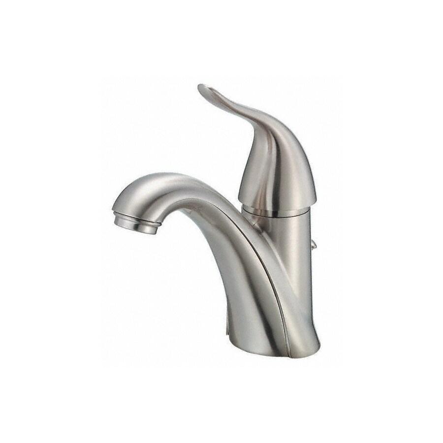 Danze Antioch Brushed Nickel 1-Handle Single Hole WaterSense Bathroom Faucet (Drain Included)