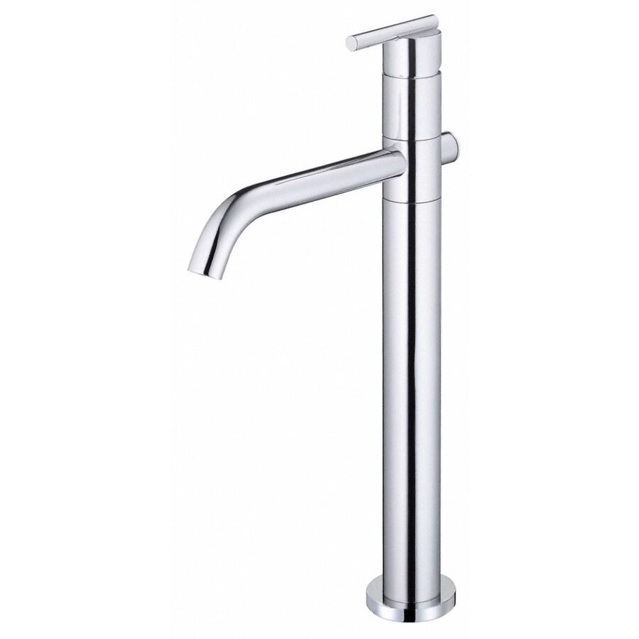 Danze Parma Chrome 1-Handle Single Hole WaterSense Bathroom Faucet (Drain Included)