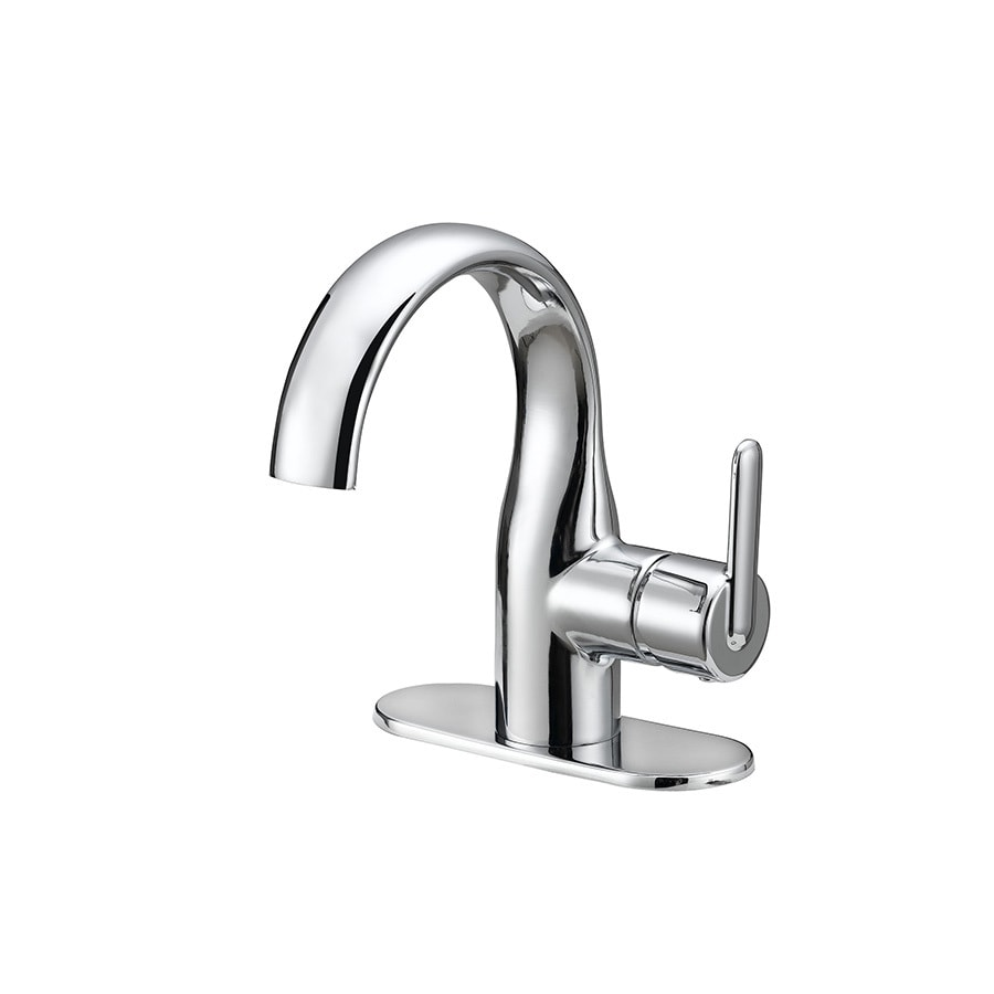 Shop Jacuzzi BELICE Chrome 1-Handle Single Hole WaterSense Bathroom ...