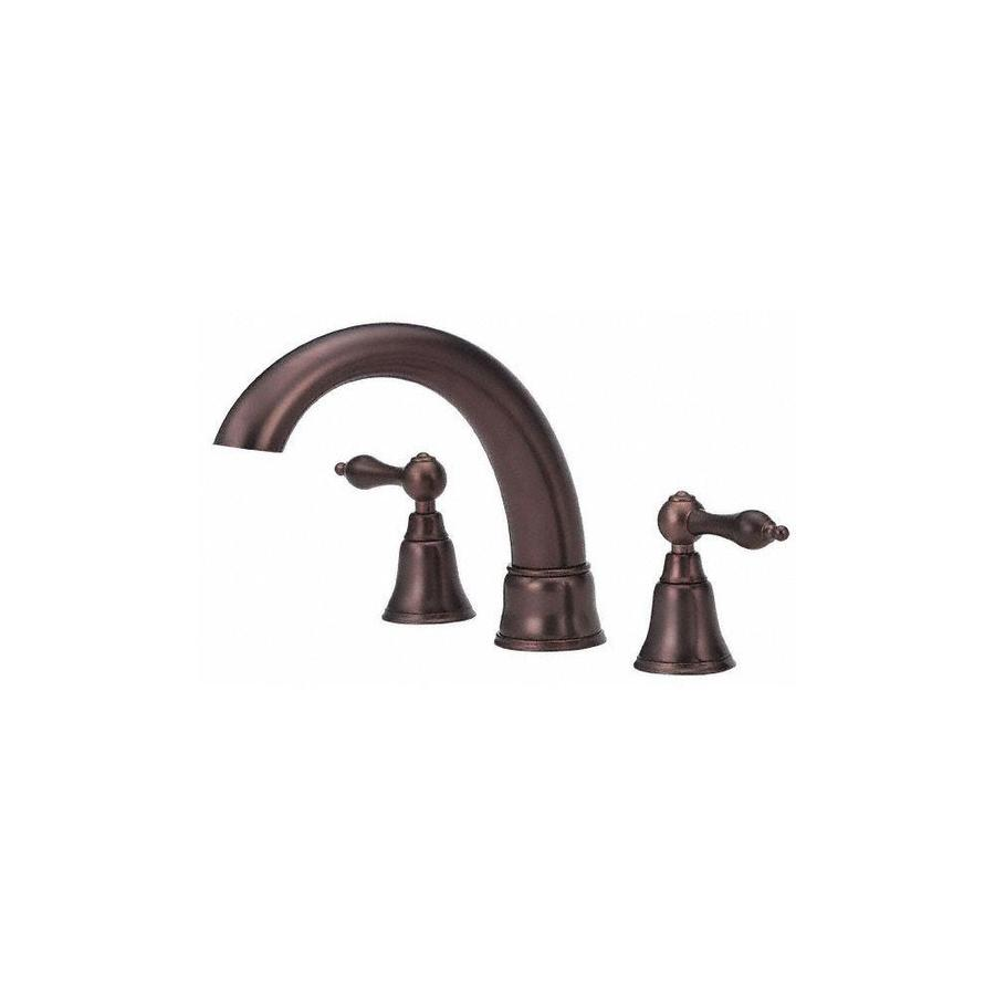 Danze Fairmont Oil Rubbed Bronze 2-Handle Adjustable Deck Mount Bathtub Faucet