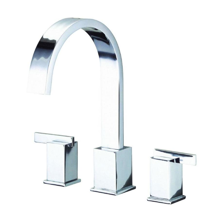 Danze Sirius Chrome 2-Handle Adjustable Deck Mount Bathtub Faucet