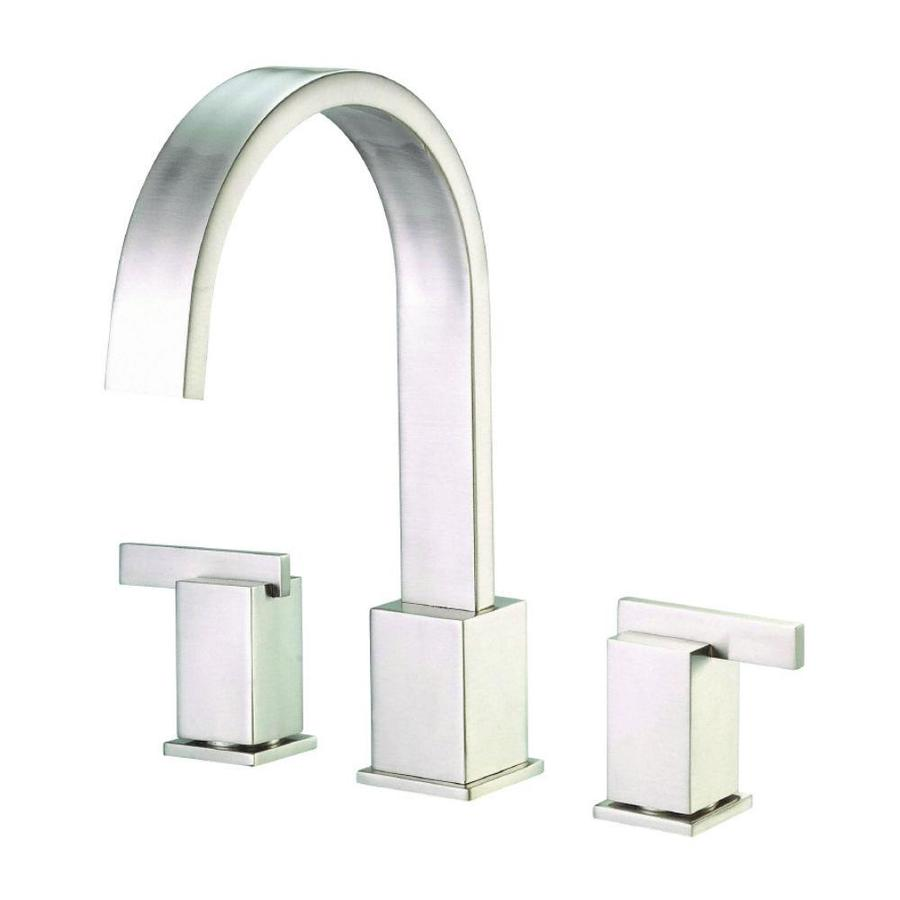 Danze Sirius Brushed Nickel 2-Handle Adjustable Deck Mount Bathtub Faucet