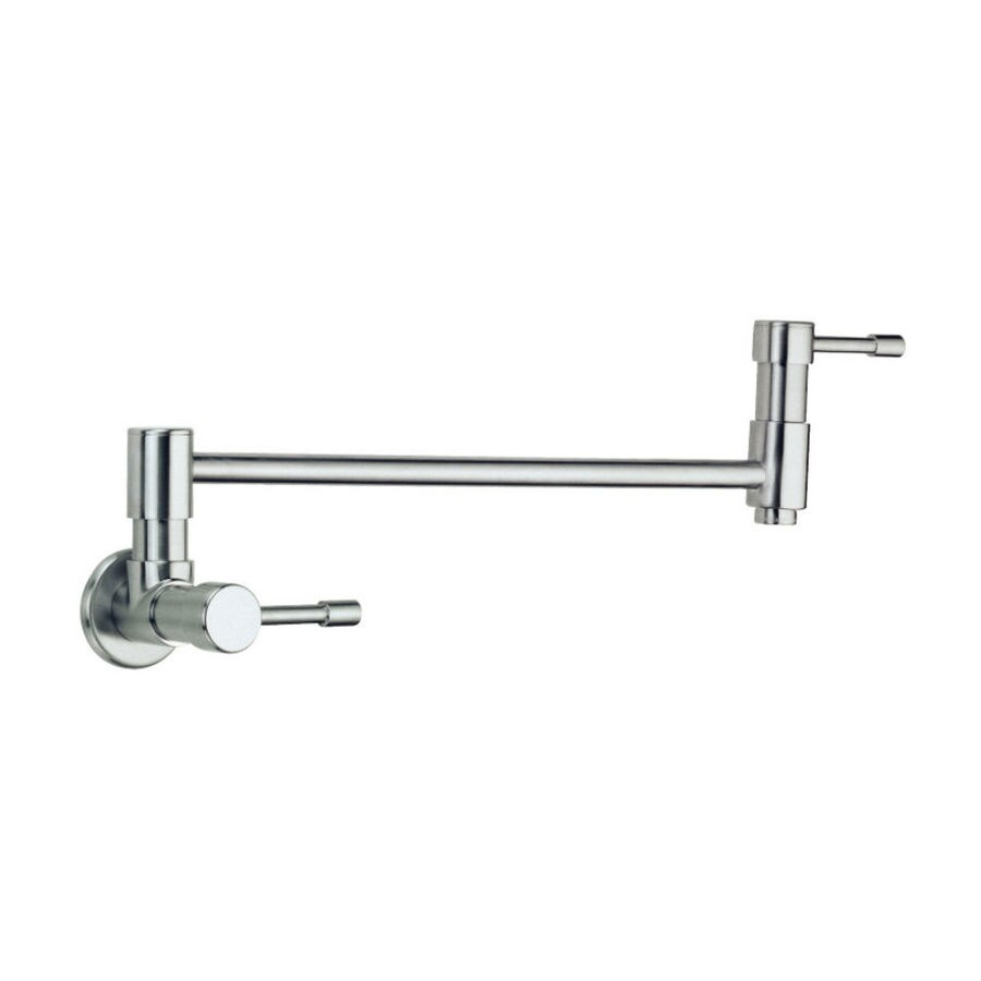 shop danze melrose stainless steel 2 handle pot filler