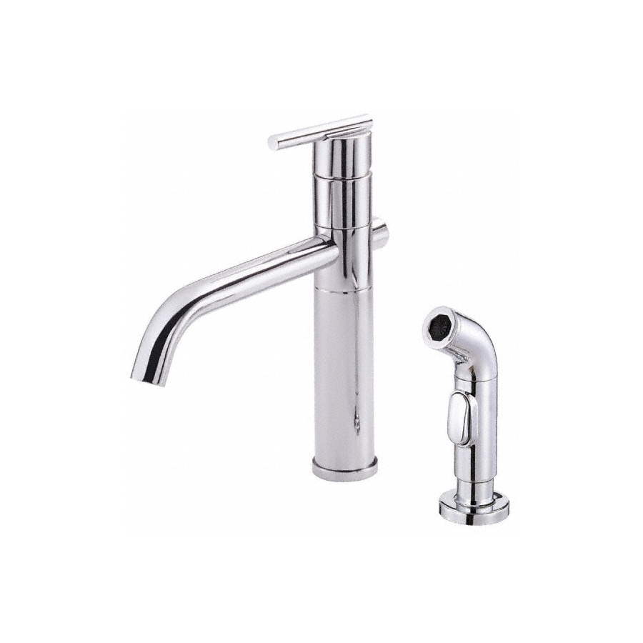 danze parma kitchen faucet shop danze parma chrome 1 handle deck mount high arc 17115
