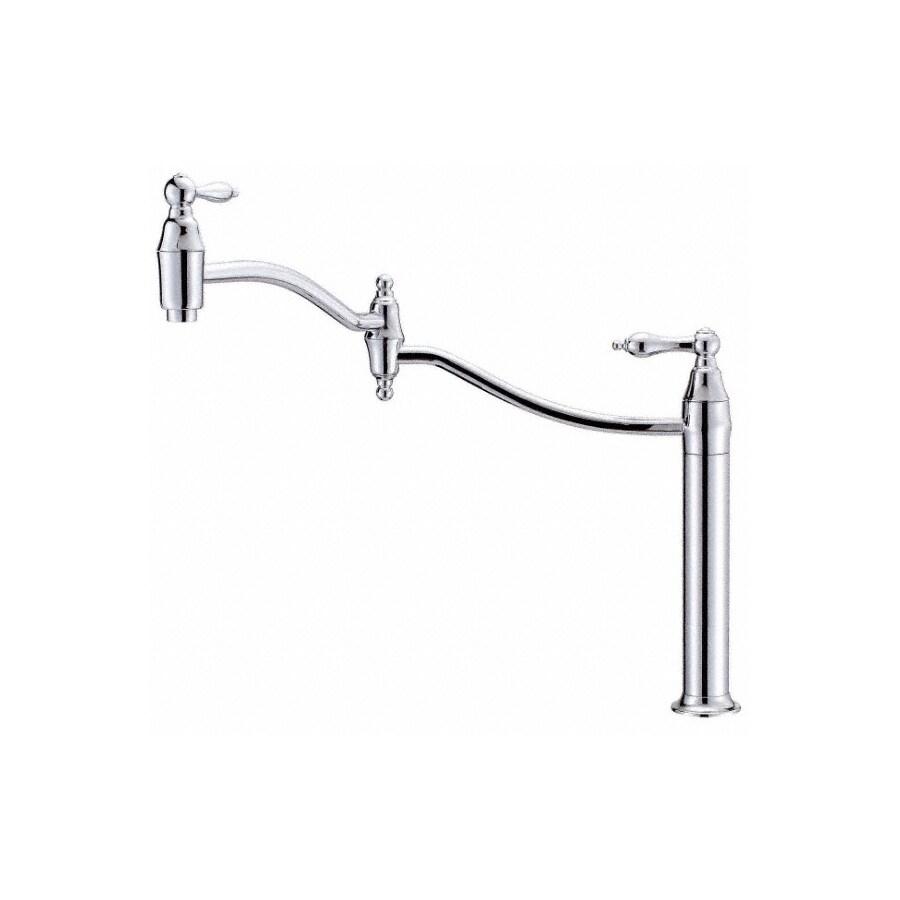 Shop Danze Fairmont Chrome Pot Filler Kitchen Faucet At