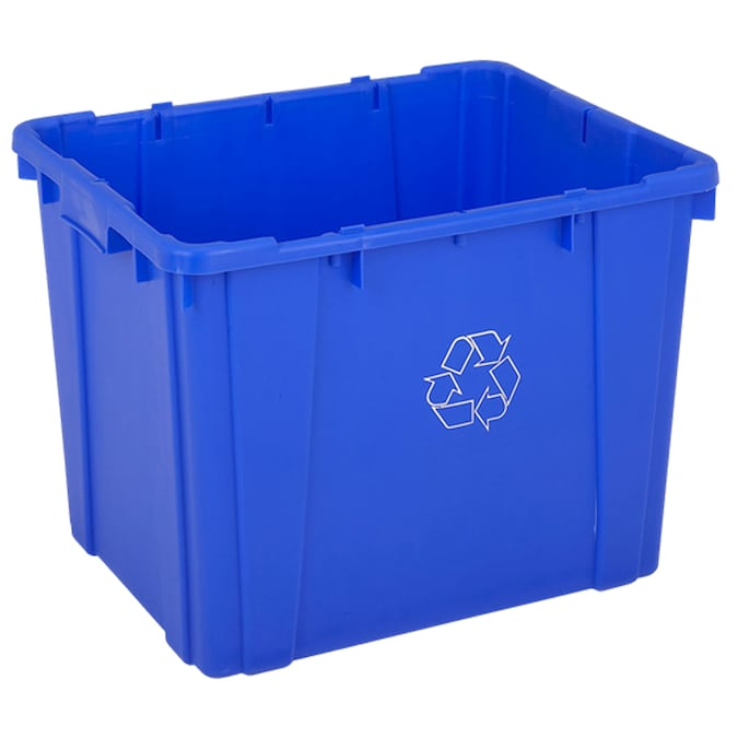 Contico 14 Gallon Outdoor Garbage Can In The Trash Cans Department At Lowes Com