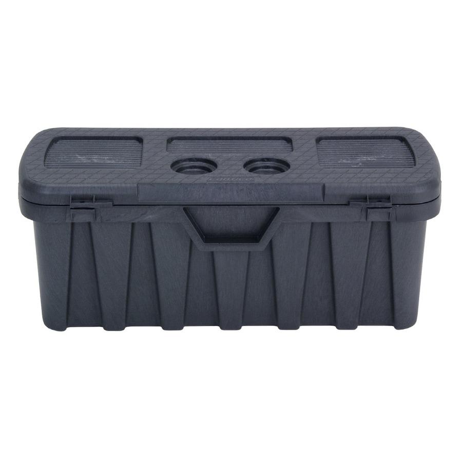 Shop Contico 20 Gallon S Black Plastic Storage Trunk At