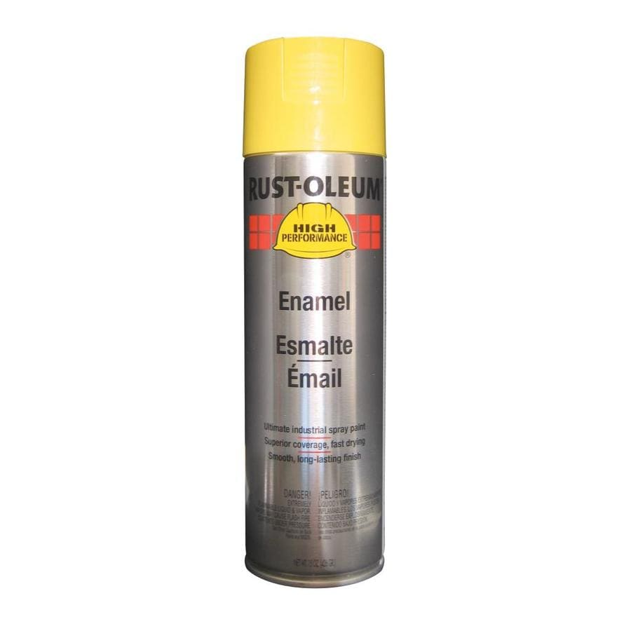 Rust-Oleum High Performance Safety Yellow Enamel Spray Paint (Actual Net Contents: 15-oz)