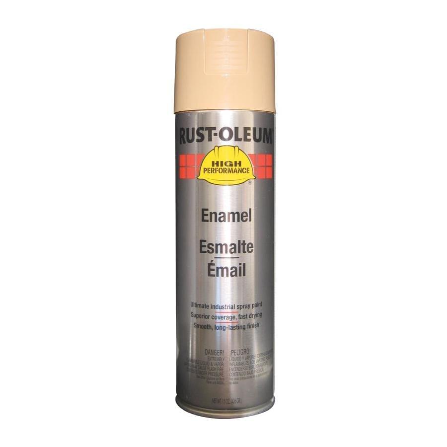 Rust-Oleum High Performance Tan Rust Resistant Enamel Spray Paint (Actual Net Contents: 15-oz)