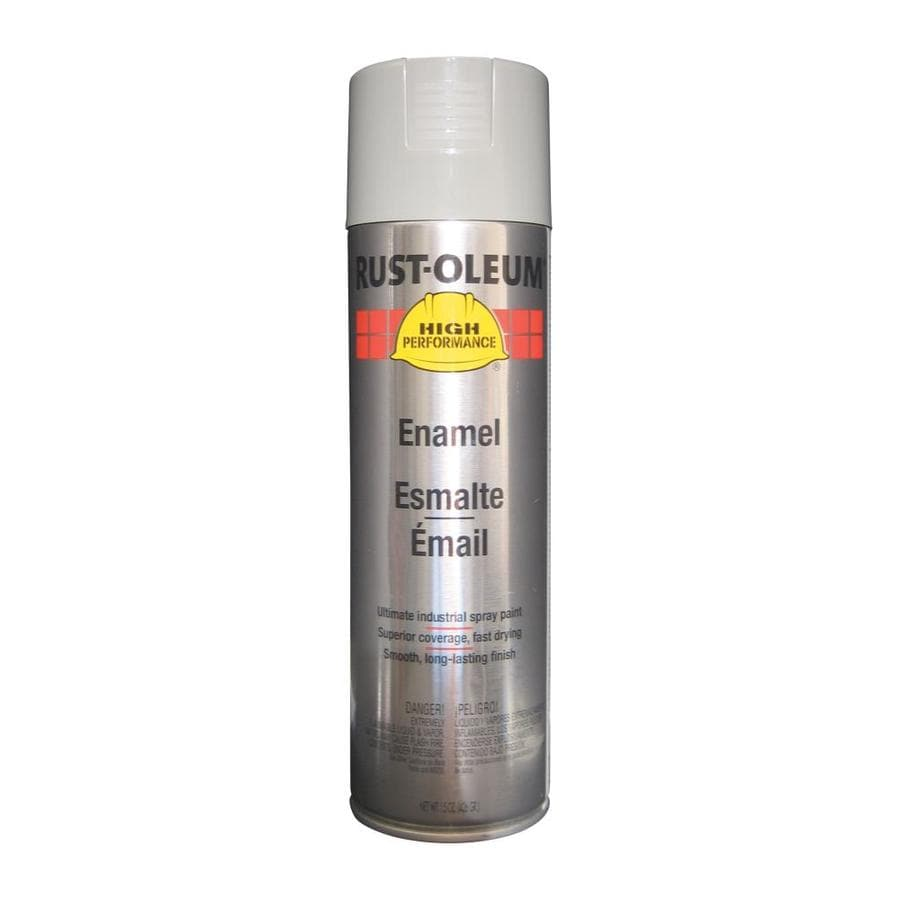 Rust-Oleum High Performance Light Machine Gray Enamel Spray Paint (Actual Net Contents: 15-oz)