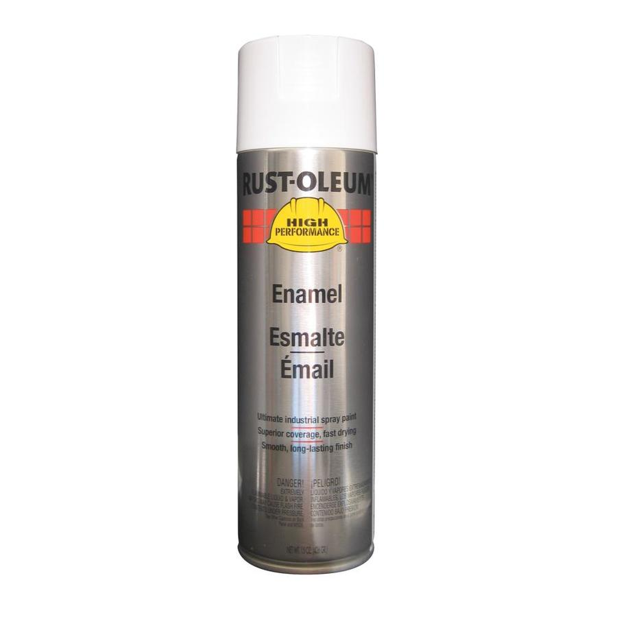 Rust-Oleum High Performance White Enamel Spray Paint (Actual Net Contents: 15-oz)