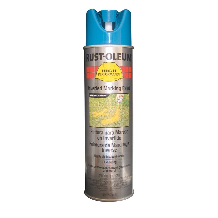 Rust-Oleum High Performance Marking Caution Blue Fade Resistant Spray Paint (Actual Net Contents: 15-oz)