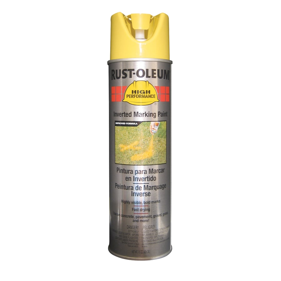 Rust-Oleum High Performance Marking High Visibility Yellow Fade Resistant Spray Paint (Actual Net Contents: 15-oz)