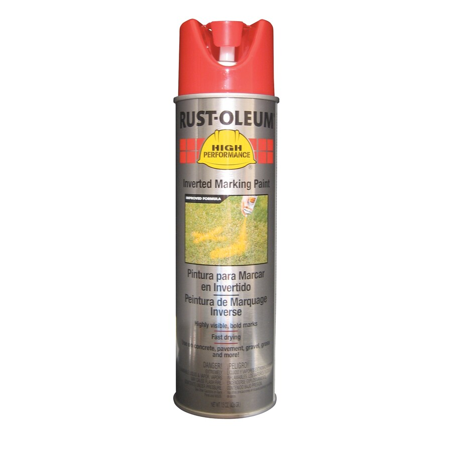 Rust-Oleum High Performance Safety Red Spray Paint (Actual Net Contents: 15-oz)