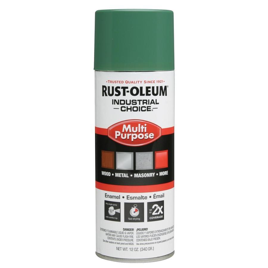 Rust-Oleum Industrial Choice Machine Green Enamel Spray Paint (Actual Net Contents: 12-oz)