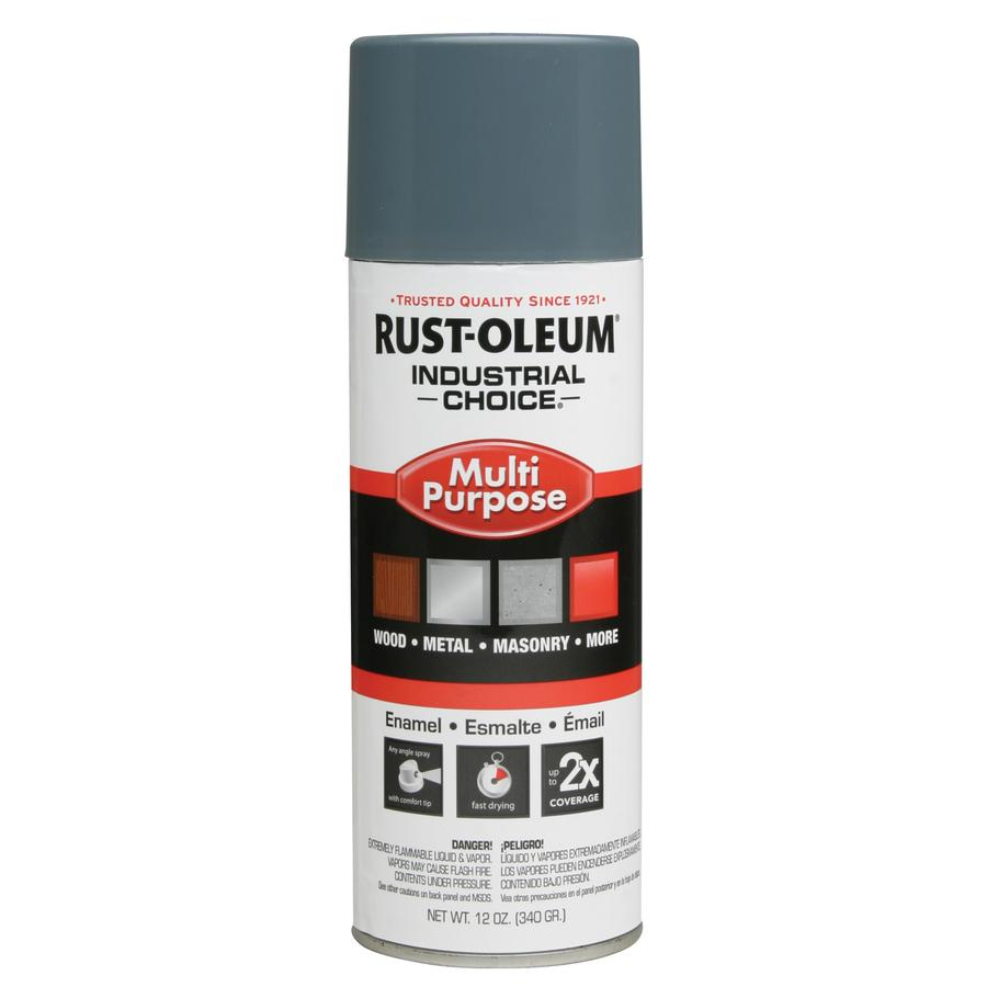 Rust-Oleum Industrial Choice Machinery Gray Enamel Spray Paint (Actual Net Contents: 12-oz)