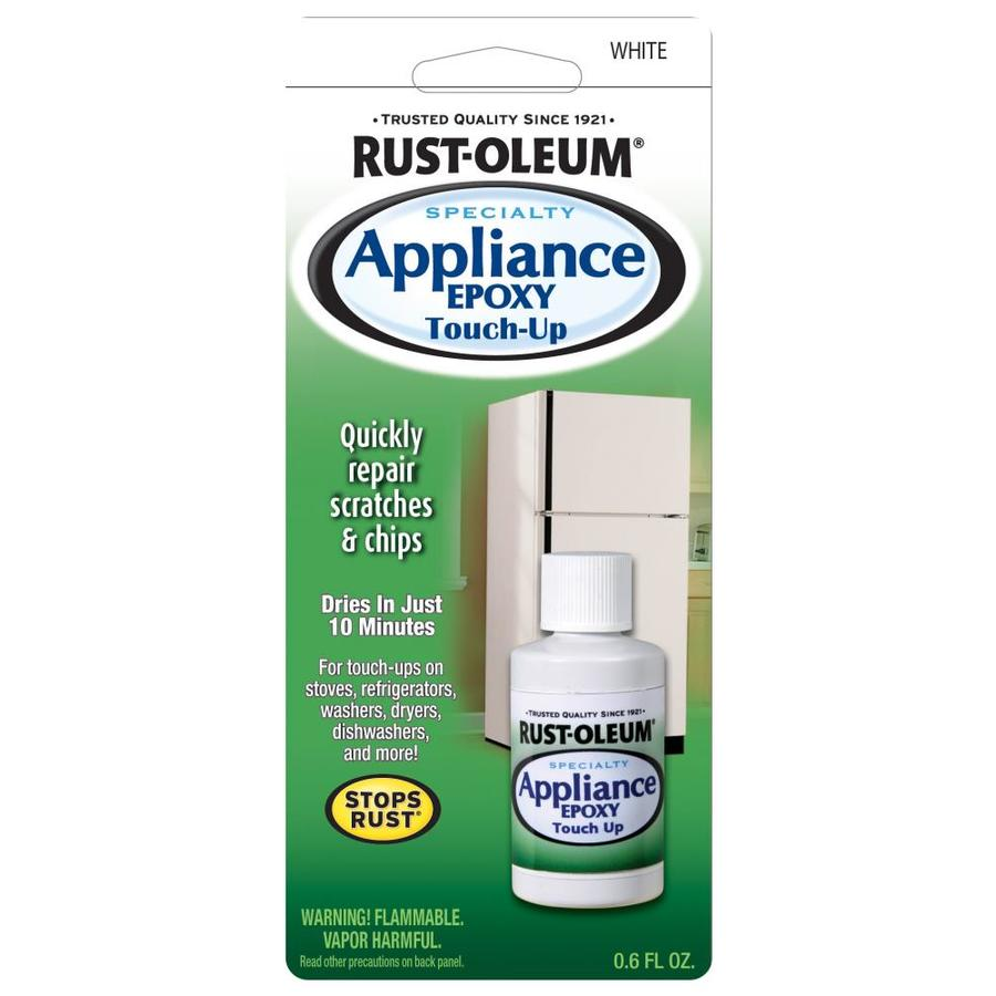 Rust-Oleum 0.6-fl oz White/Gloss Appliance Touch-Up Paint