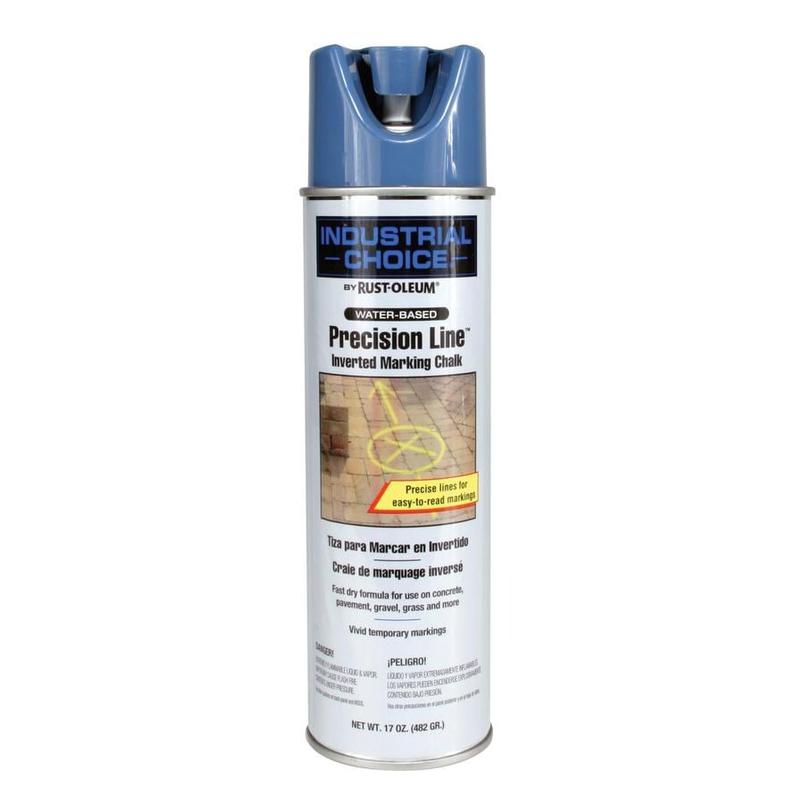 Shop Rust Oleum Industrial Choice 12 Pack Blue Oil Based Marking Paint Actual Net Contents 17