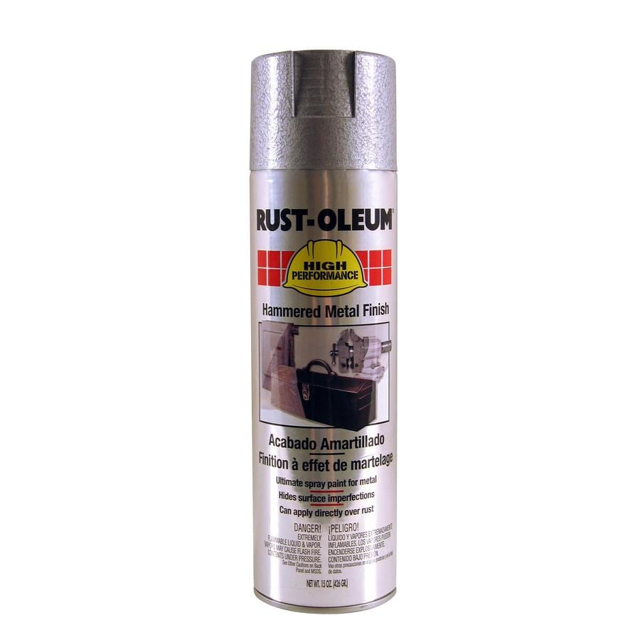 Rust-Oleum High Performance Silver Hammered Enamel Spray Paint (Actual Net Contents: 15-oz)
