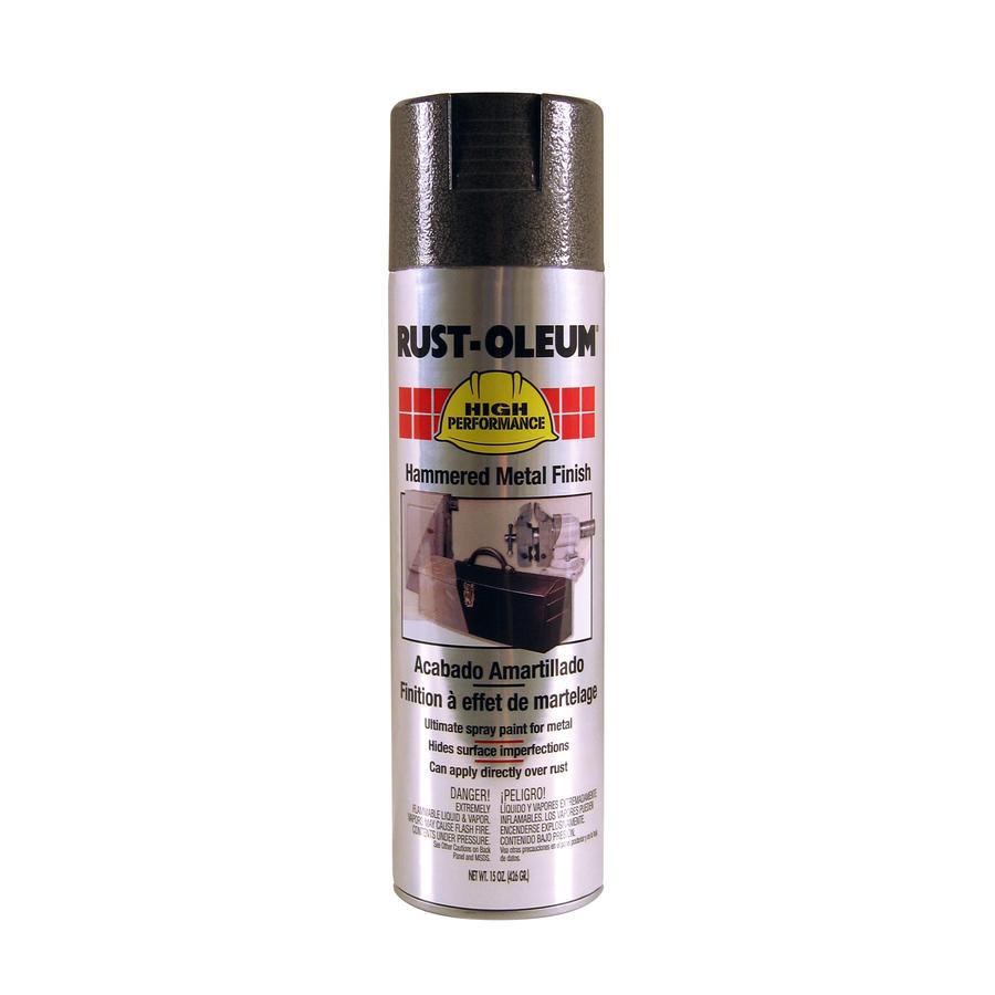 Rust-Oleum High Performance Dark Bronze Hammered Enamel Spray Paint (Actual Net Contents: 15-oz)
