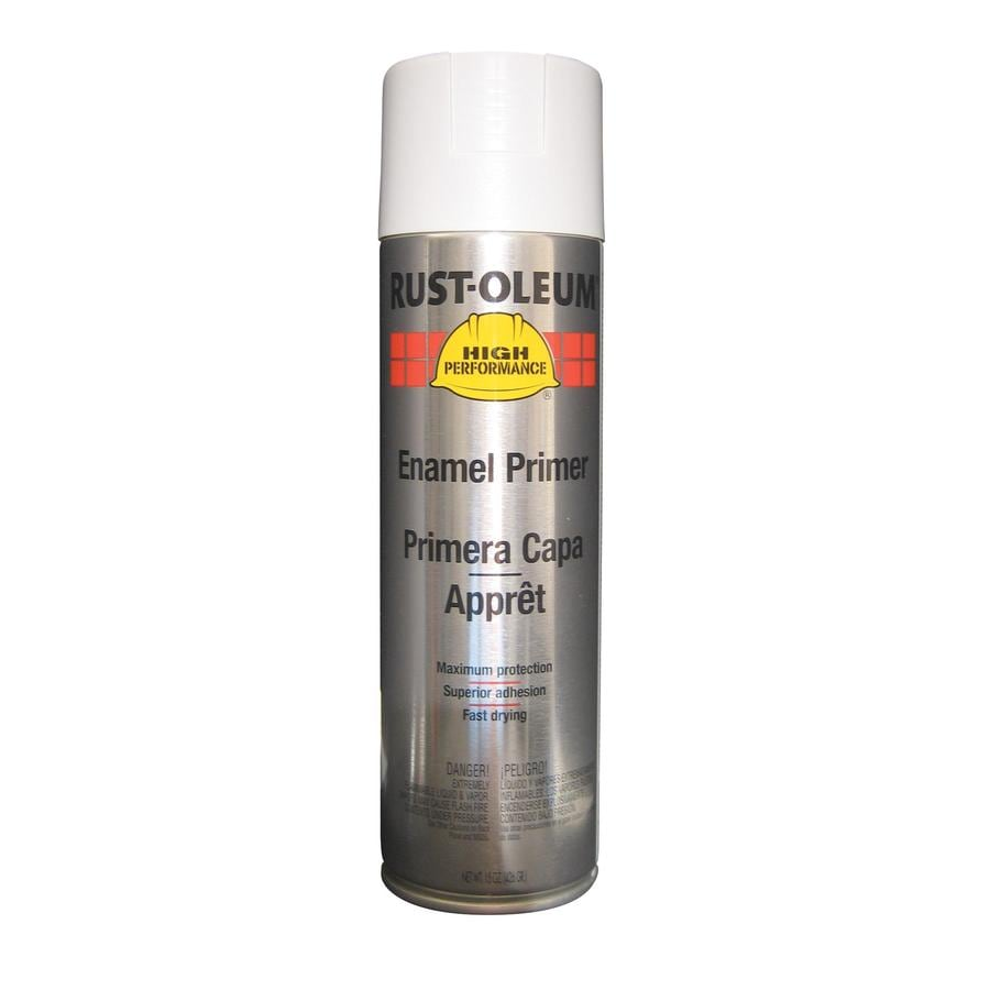 Rust-Oleum High Performance White Rust Resistant Primer Spray Paint (Actual Net Contents: 15 Oz.)