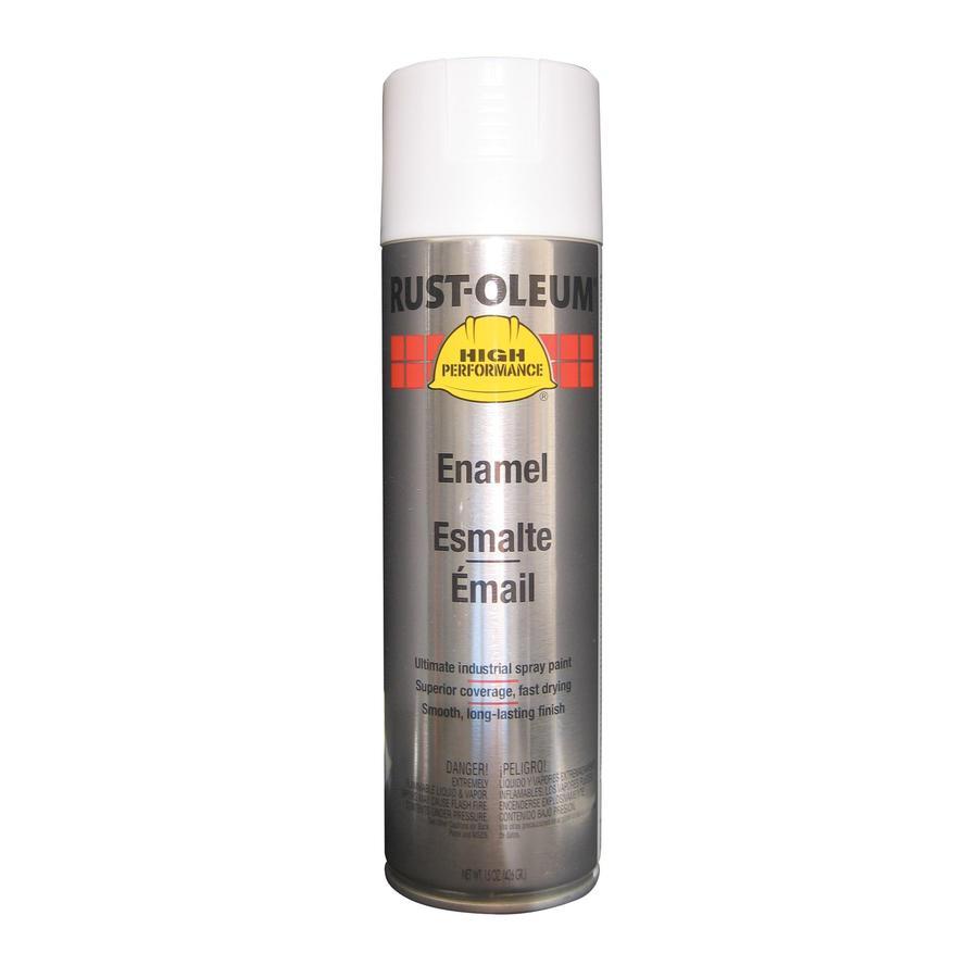 Rust-Oleum High Performance White Enamel Spray Paint (Actual Net Contents: 15-oz)