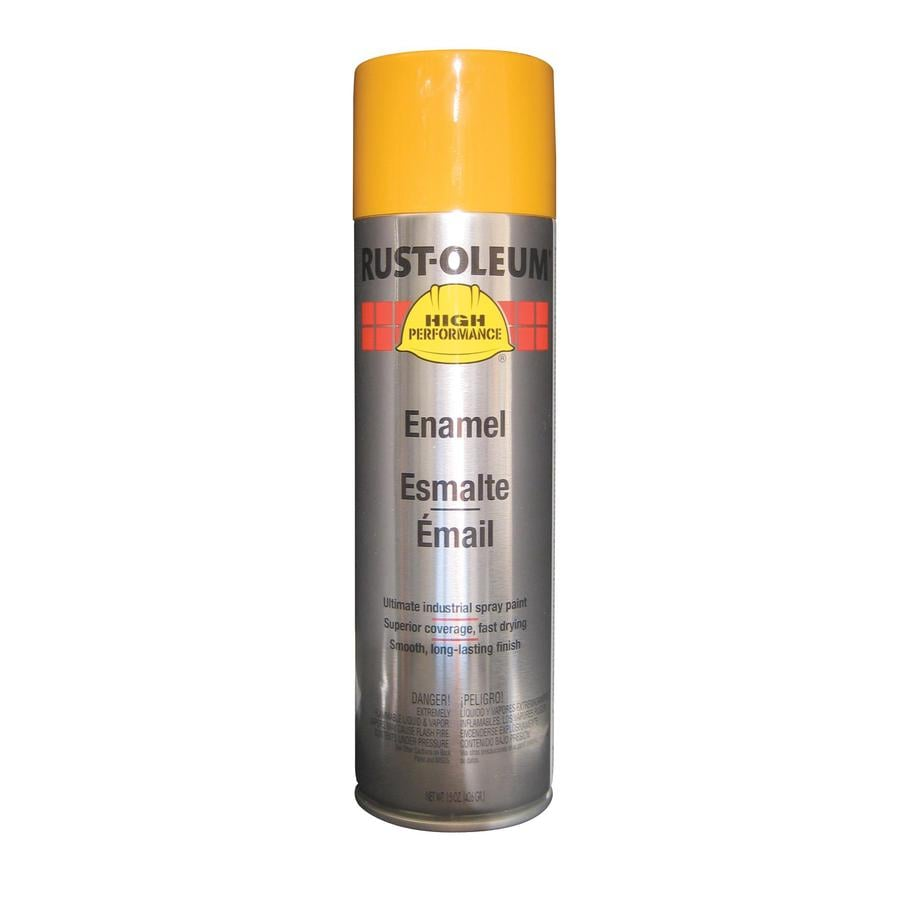 Rust-Oleum High Performance Caterpillar Yellow Enamel Spray Paint (Actual Net Contents: 15-oz)