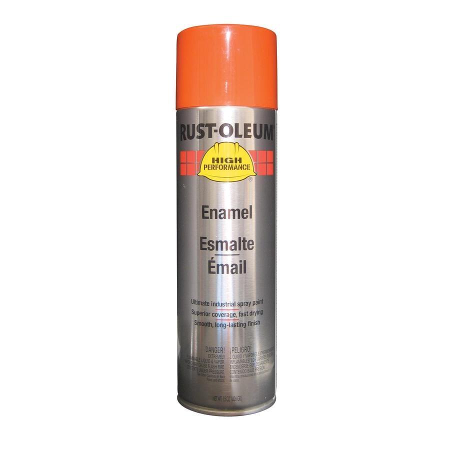 Rust-Oleum High Performance Allis Chalmers Orange Enamel Spray Paint (Actual Net Contents: 15-oz)