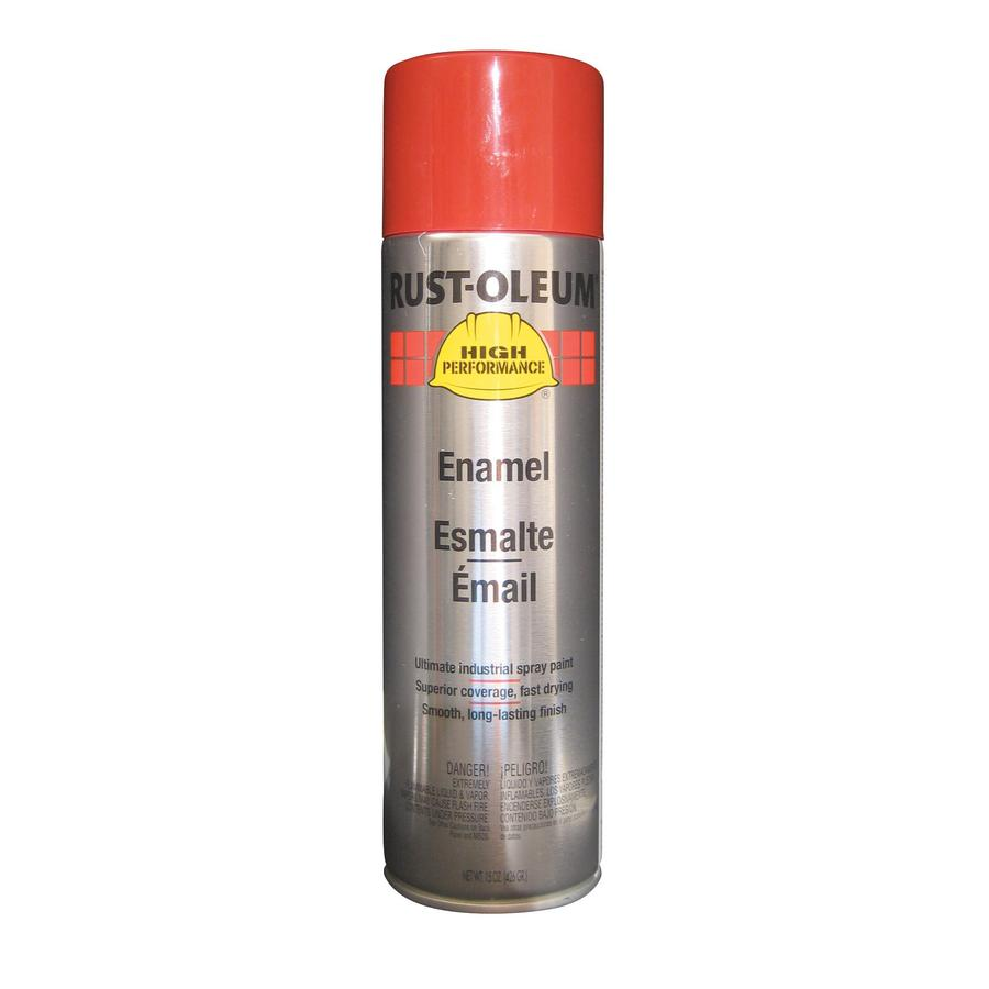 Rust-Oleum High Performance International Red Enamel Spray Paint (Actual Net Contents: 15-oz)