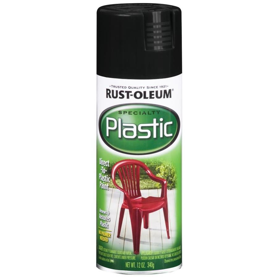 Rust-Oleum Specialty Black Spray Paint (Actual Net Contents: 12-oz)