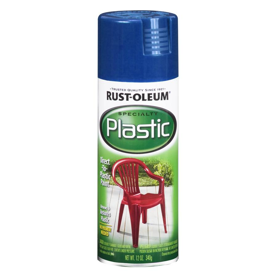 Rust-Oleum Specialty Paint for Plastic Sail Blue Fade Resistant Spray Paint (Actual Net Contents: 12-oz)