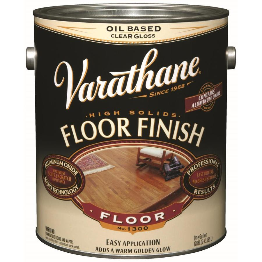 Varathane Floor Finish 128-fl oz Gloss Oil-modified Polyurethane