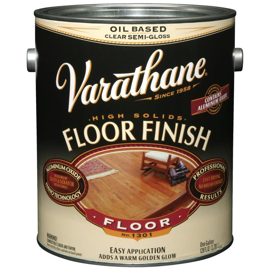 Varathane Floor Finish 128-fl oz Semi-gloss Oil-modified
