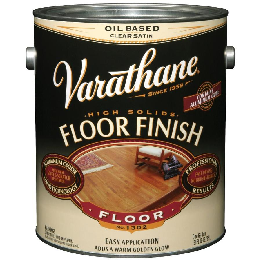 Varathane Floor Finish 128-fl oz Satin Oil-modified