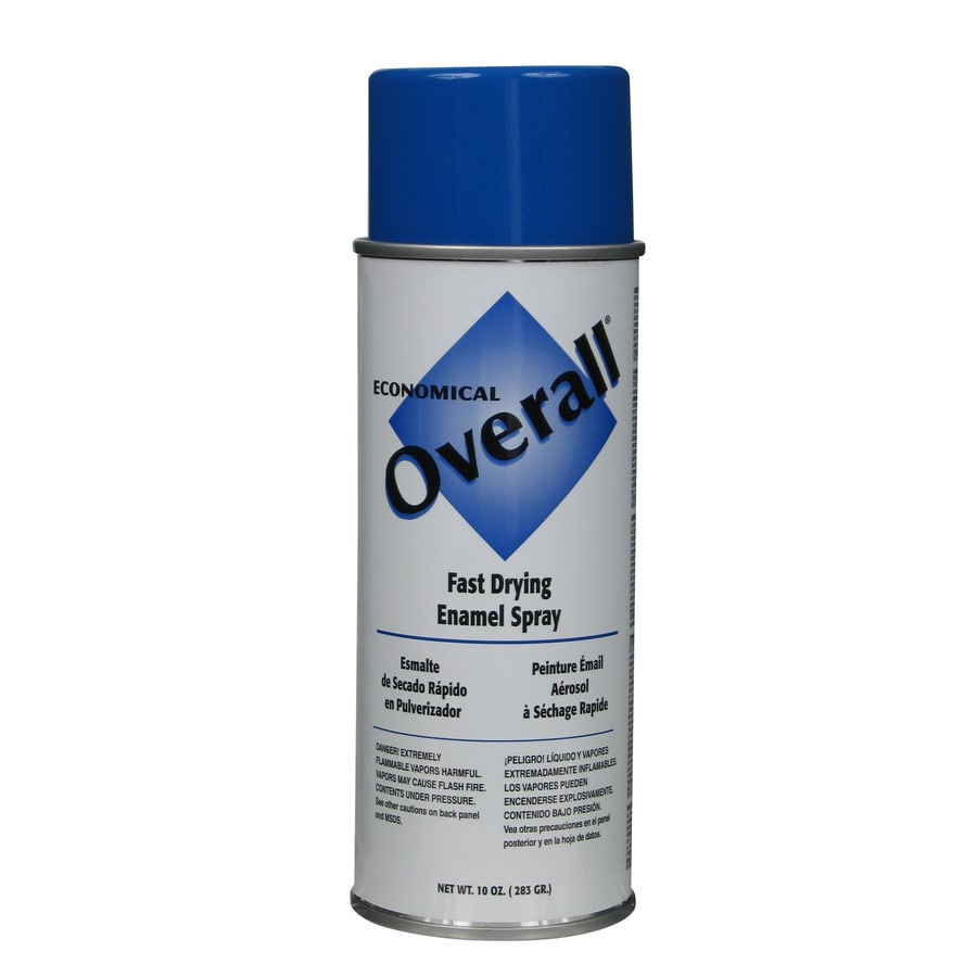 Shop Rust Oleum Overall Medium Blue Enamel Spray Paint Actual Net Contents 10 Oz At