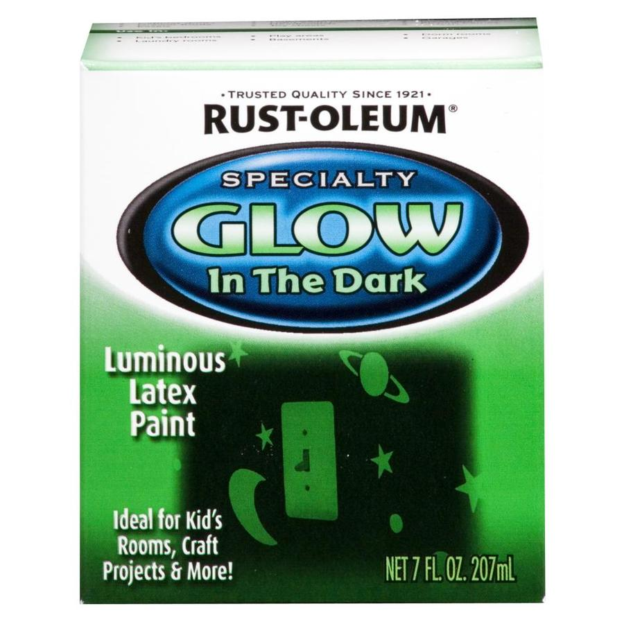Shop rust oleum luminous green flat glow in the dark water - Rust oleum glow in the dark paint exterior collection ...