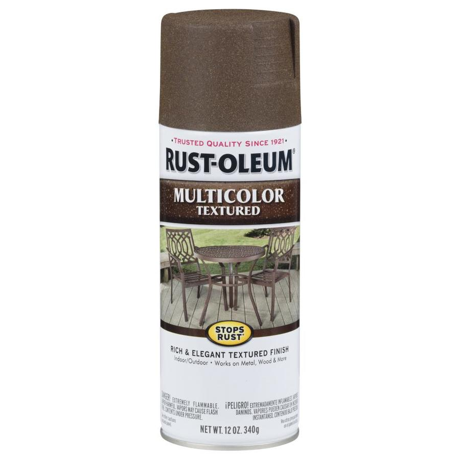 Rust-Oleum Autumn Brown Textured Enamel Spray Paint (Actual Net Contents: 12-oz)
