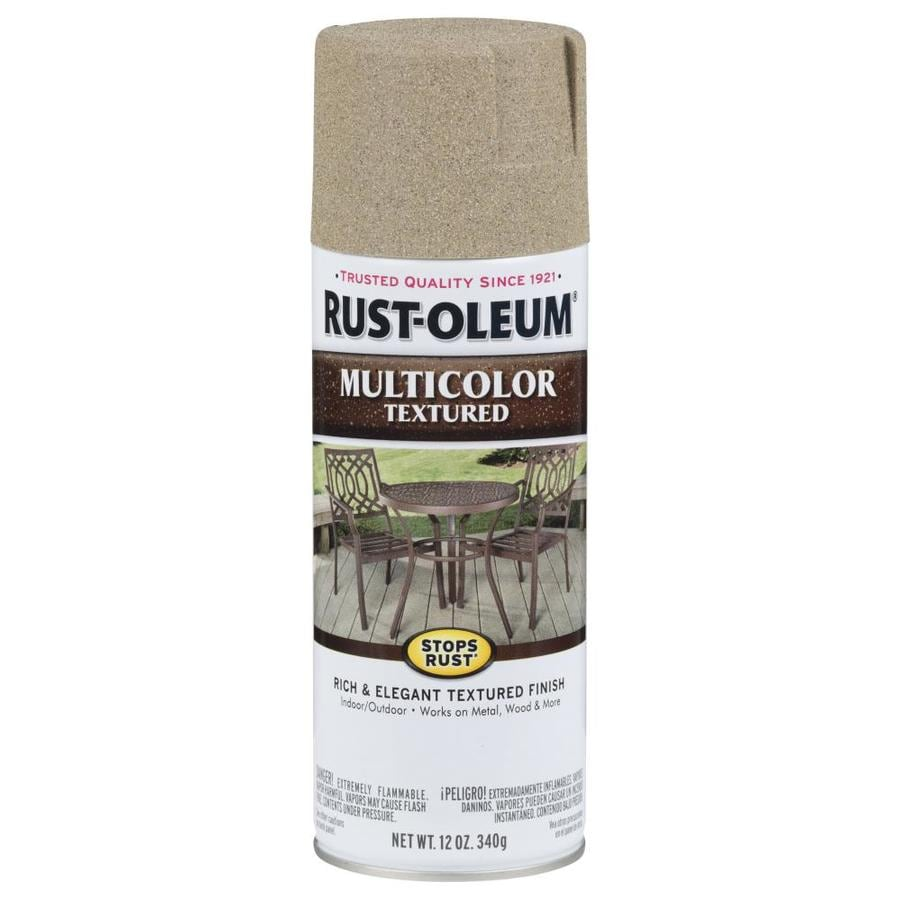 Rust-Oleum Stops Rust Desert Bisque Textured Enamel Spray Paint (Actual Net Contents: 12-oz)