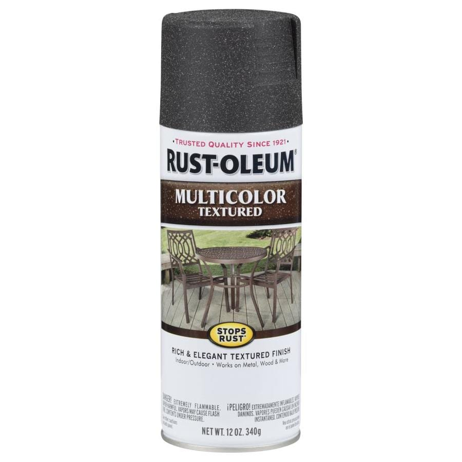 Rust-Oleum Stops Rust Aged Iron Textured Enamel Spray Paint (Actual Net Contents: 12-oz)
