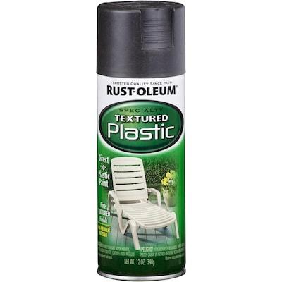 Rust Oleum Specialty Paint For Plastic Black Textured Fade