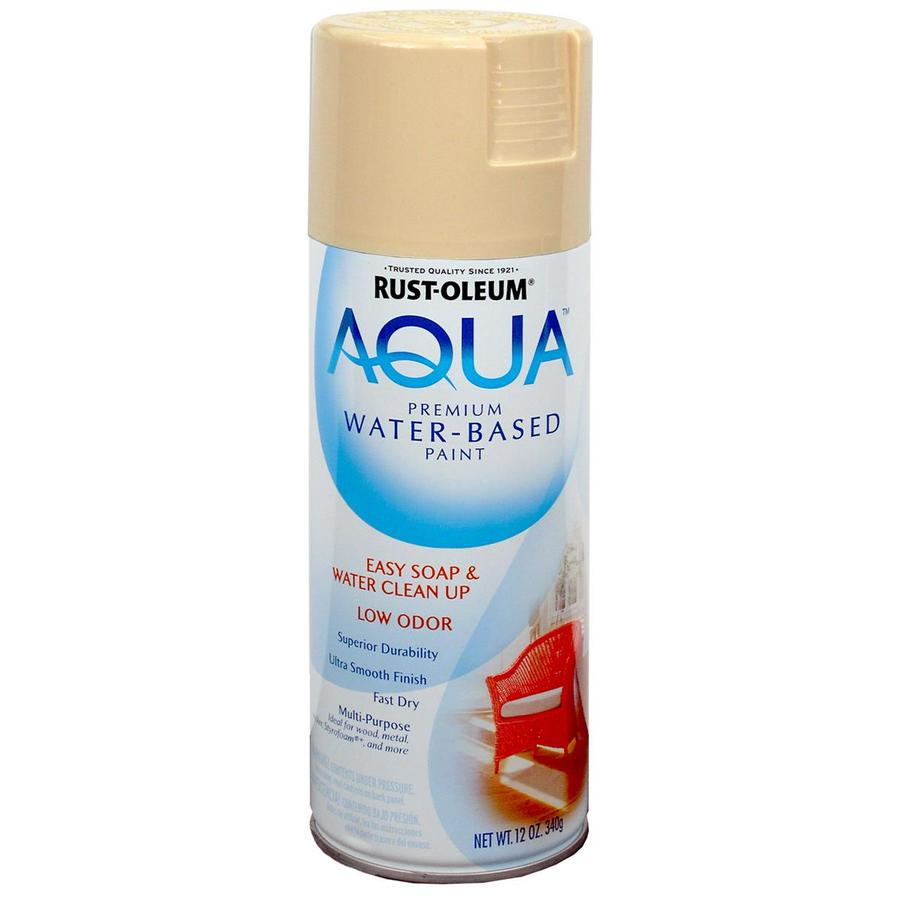 Rust-Oleum Aqua 12-oz Oyster Gloss Spray Paint